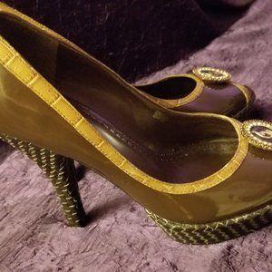 Baby Phat Shoes Size 8 B Women Open Toe Pumps